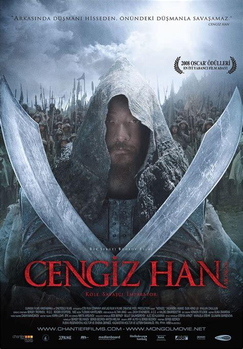 film kolosal mongol cengiz han mongol 2007 brrip film afis movie poster