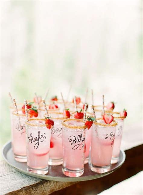 26 signature cocktails serve at your wedding brit co