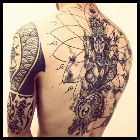 christian tattoo artist bay area very good looking backpiece by monica moro yoga tattoo