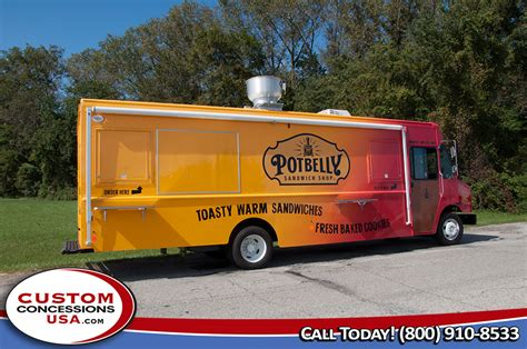 potbelly sandwich shop food truck custom concessions