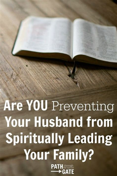 struggle  allowing  husband  lead  family spiritually