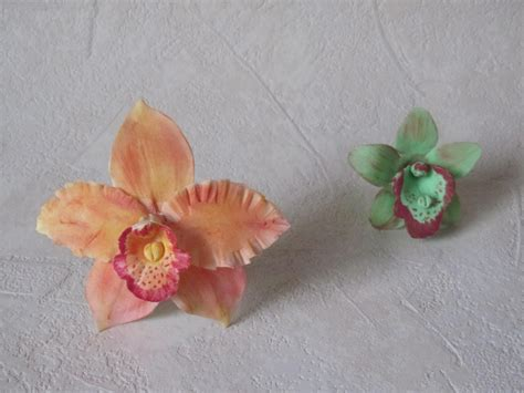 come fare fiori con la pasta di zucchero fiori in pasta di zucchero orchidee parte 1 di 2