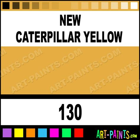 new caterpillar yellow industrial colorworks enamel paints 130 new caterpillar yellow paint