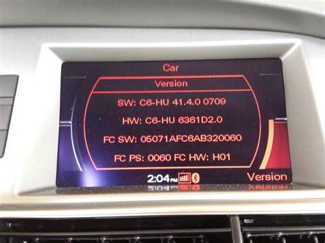 Audi A6 Mmi Version by 2008 4 2l A6 C6 4f Mmi 2g Hi Firmware Upgrade Audiworld