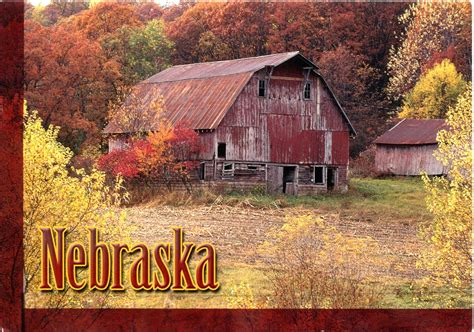 Usa Barns Usa Nebraska Remembering Letters And Postcards