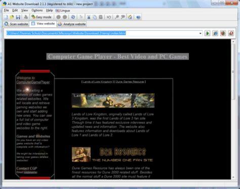 a1 website download download websites to browse offline