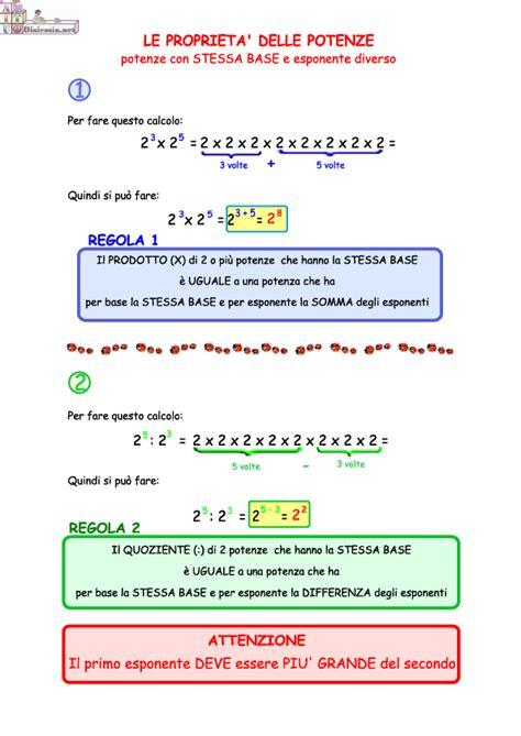 tavole numeriche delle potenze tavole di consultazione per la matematica e l italiano
