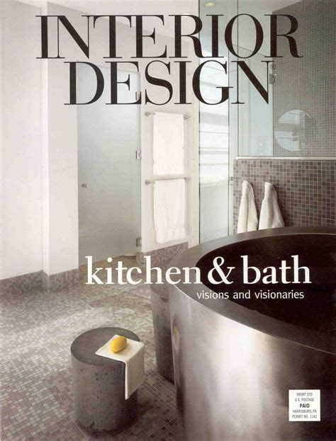 Home Interior Decorating Magazines by Interior Design Magazine Cover Kvriver