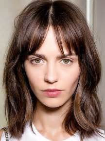 bangs hairstyle 15 popular brunette bob hairstyles short hairstyles 2016
