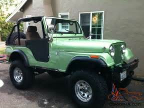 1976 Jeep Cj5 1976 Cj5 Jeep Renegade Restored
