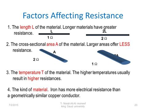 what factors affect the resistance of a resistor 28 images what factors affects the