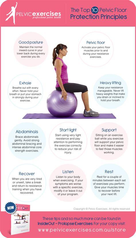 step guide pelvic floor safe exercises  strengthening