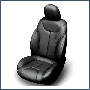 katzkin leather replacement seat upholstery for the honda