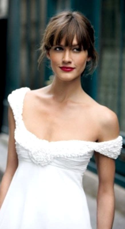 Wedding Hair Up Styles With Fringe by Best 25 Bangs Updo Ideas On V Bangs Hair