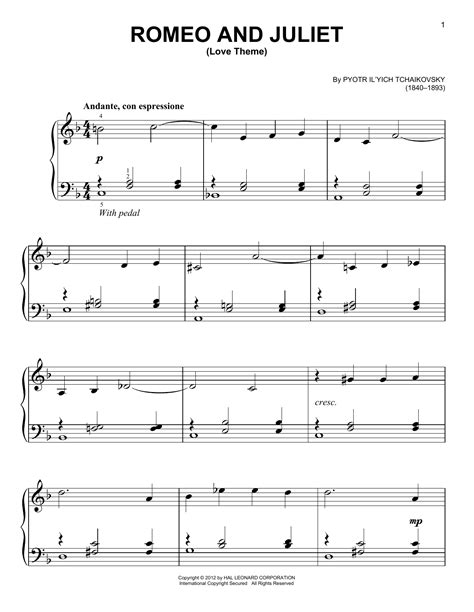 romeo and juliet theme guitar romeo and juliet love theme sheet music direct