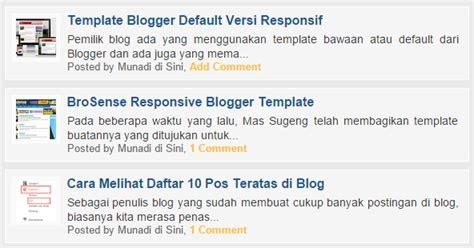 wahyu wijanarko id menghilangkan iklan intrusive cara menilkan hanya judul posting di beranda blogger