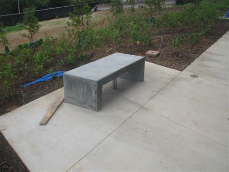 outdoor cement benches holbrook s trunk august 2010