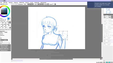paint tool sai speed drawing speed drawing paint tool sai croquis