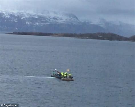 boat crash norway boat carrying britons capsizes off norwegian coast daily