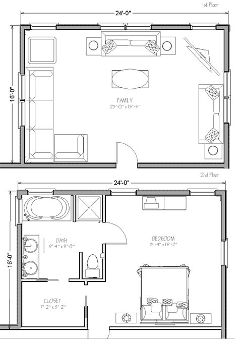 Awesome Colonial Home Floor Plans With Pictures #3: Two-story-addition-plans.gif