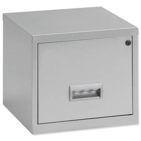 a4 single 1 drawer stackable locking metal filing cabinet