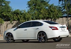 2009 Nissan Altima With 22 Inch Rims 2009 Nissan Maxima With 22 Quot Giovanna Dalar 5 In Chrome
