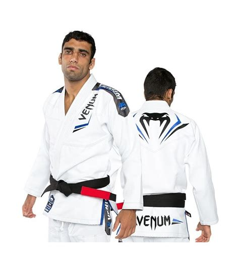 Baju Karate Shureido baju gi bjj venum elite white black blue