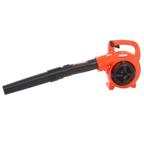 echo 165 mph 391 cfm 2 cycle gas low noise handheld blower