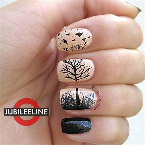 tree nail designs fall tree nail design newhairstylesformen2014