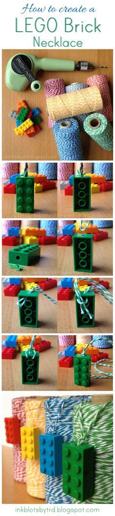lego jewelry tutorial 1000 ideas about lego necklace on pinterest lego