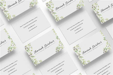 free floral business card template free floral designer business card template creativetacos