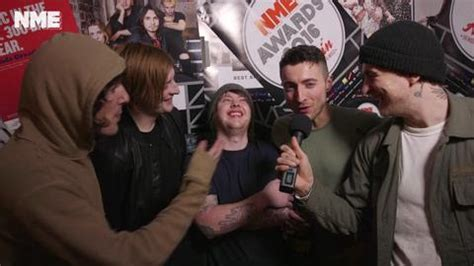 coldplay vs bmth nme awards 2016 bring me the horizon talk to nme after