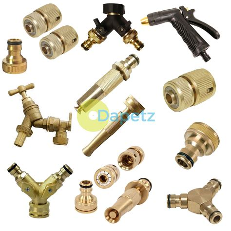 Hose Nozzle Water Spray Semprotan Semprot Air Gun Selang Slang Motor outdoor garden tap kit brass hose connector adaptor fittings spray gun nozzle