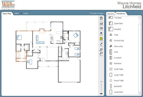 create interactive floor plan online custom home design house design ideas