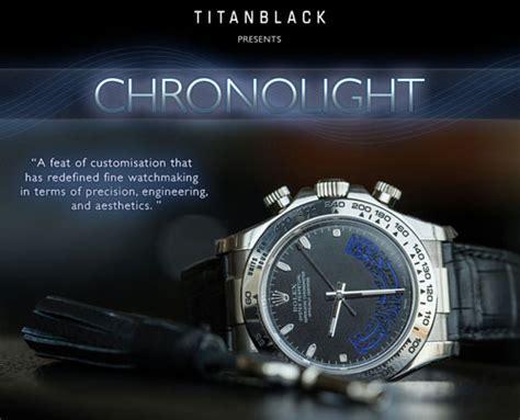 titan black chronolight luxury
