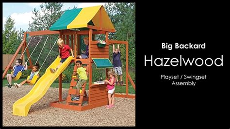 big backyard play set assembly of the hazelwood play set by big backyard