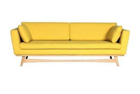 photos canap 233 jaune moutarde