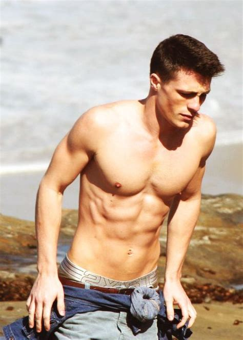 colton haynes new abercrombie photos aren t half as