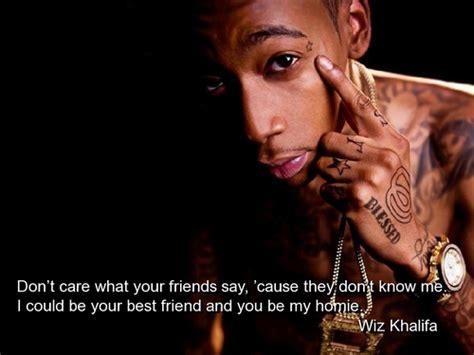 Wiz Khalifa Quotes About Friends