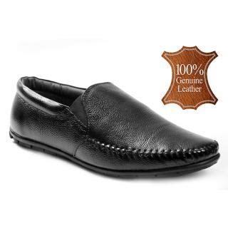 shoeson s black genuine leather formal shoes buy