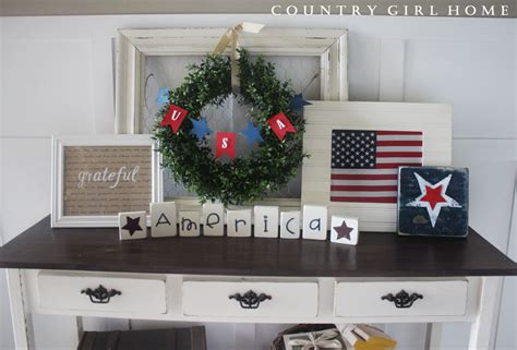 country girl home decor country girl home 4th of july decor