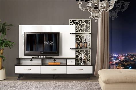 simple lcd wall unit designs