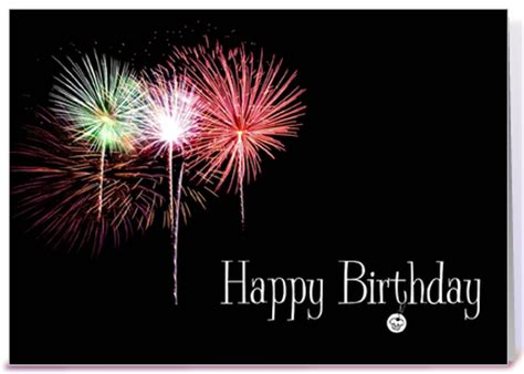 happy birthday fireworks greeting card by simply put by