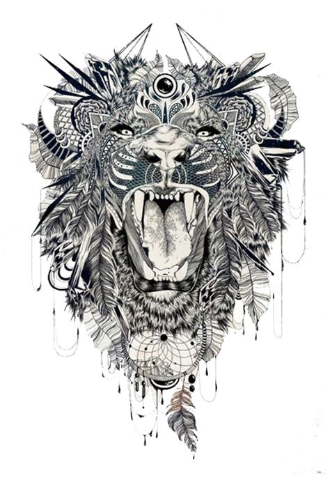 full body lion tattoo lion tattoo designs the body is a canvas