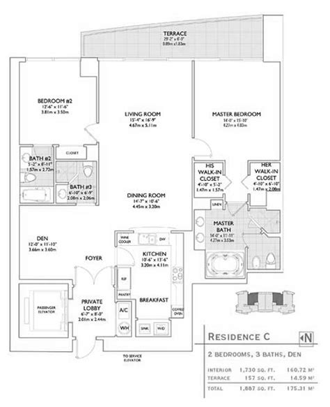 Jade Brickell Floor Plans | jade brickell condo floor plans