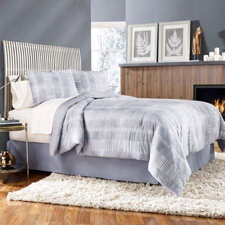 grove hill gridwork 4 piece bedding comforter set