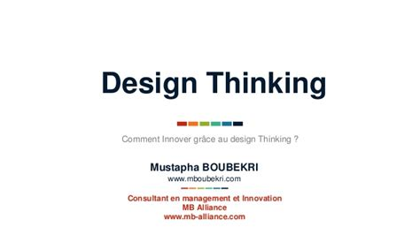 design thinking consultant innover gr 226 ce au design thinking cogite