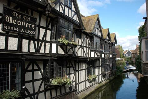 houses to buy in canterbury beenthere donethat the old weavers houses by the river stour canterbury kent