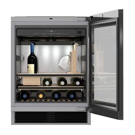 24 wine refrigerator miele 24 quot undercounter wine refrigerator kwt6312ugs nw