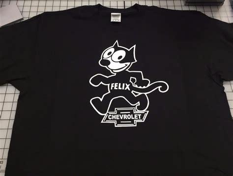 T Shirt Felix The Cat Hitam Felix The Cat T Shirt Felix Chevrolet Dealer T Shirt Felix